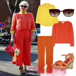 针织衫怎么搭配 秋冬季绚烂的女装针织衫搭配