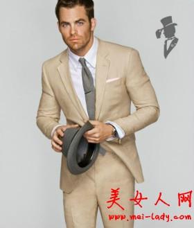男装西装搭配有学问 塑造男性魅力散发爷们气息