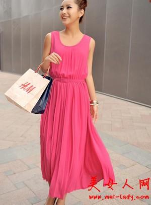 在淘宝买长裙必须知道的几个选购技巧