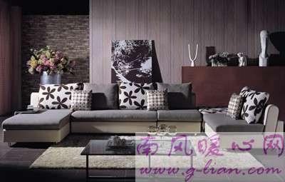教你如何选购布艺沙发 清新自然风格