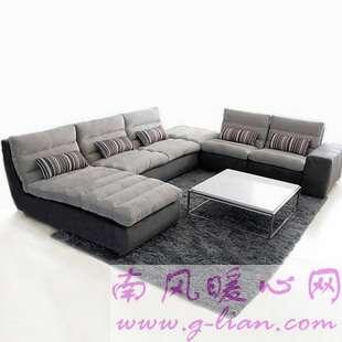 客厅布艺沙发 欧式风格气派大气更舒适