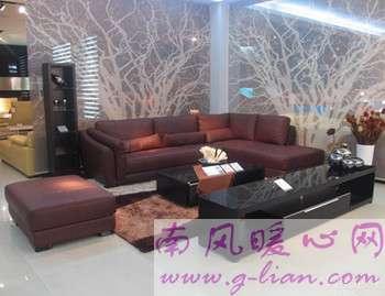 皮质沙发选购与保养 居室通风很重要