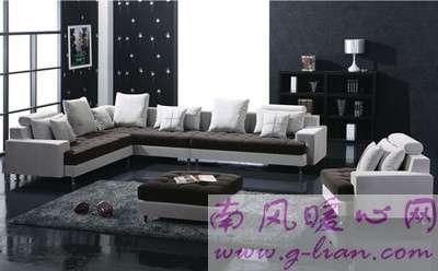 布艺休闲沙发 让你的家居拥有不一般优雅和格调