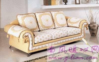 古典沙发 简单的造型但不失魅力和风格