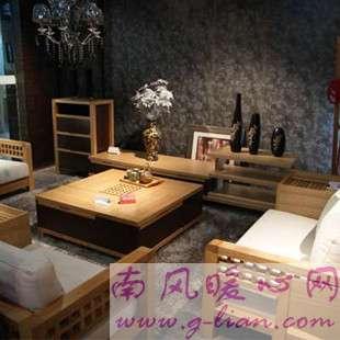 木质沙发 摆设显时尚保养使用更给力