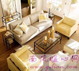 美式沙发 简单而华丽的线条就是不一样