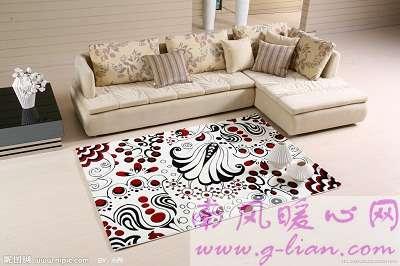 温暖舒适的沙发让我们有了温暖的依靠和安全感