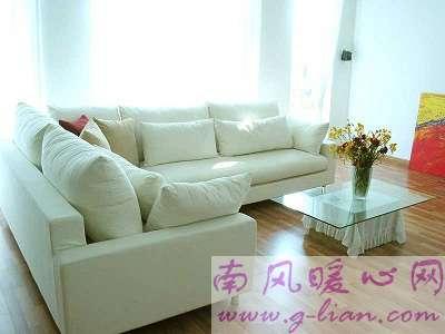 心仪的沙发让我们尽享家的温暖 自由无拘无束