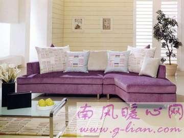 爱的小屋凝聚了心血 浪漫沙发大气美观实用