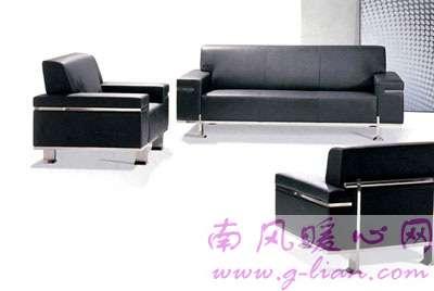 巧招护理办公室真皮沙发 让沙发保持光洁如新