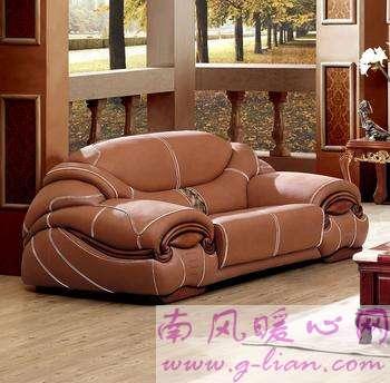 巧配皮艺沙发 尽情享受慵懒的时光