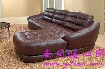 真皮沙发 融入现代元素满足现代人的时尚需求