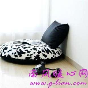 懒人沙发是一个家中的温馨休憩处