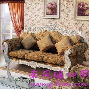 欧式沙发让一个家充满了西方的气息