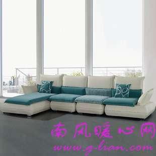 布艺沙发让时尚和舒适完美结合美满生活
