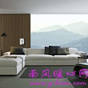 日系素雅质朴风格我打造 棉麻布艺沙发挑选有技巧