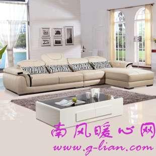 真皮沙发 用典雅的情趣提升生活的质感