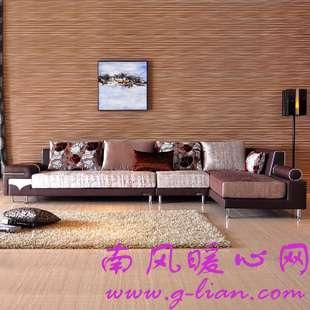 选一款适合自己家庭的布艺沙发 轻松简单我做主