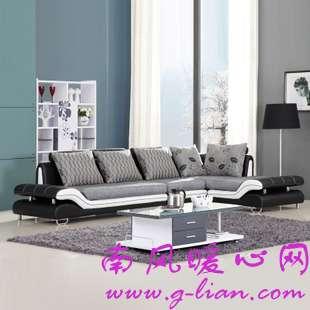 网购一款布艺沙发既实惠又好看真心喜欢的
