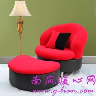 单人沙发  不同的搭配不同的设计给你不同的感觉