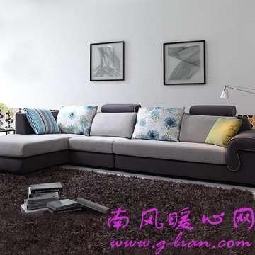 艾丽格布艺沙发款式多样带我们走向新潮流