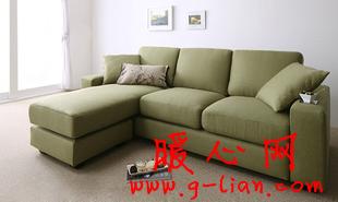 家居搭配很有味 布艺沙发款式颜色搭配很讲究